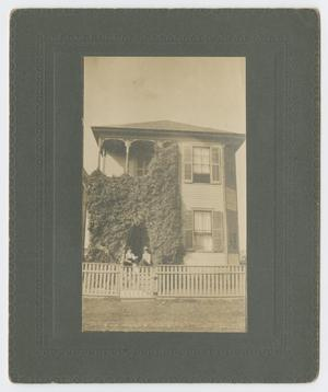 Primary view of object titled '[Photograph of R. O. Dixon House]'.