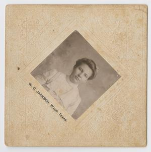Primary view of object titled '[Photograph of Unidentified Woman]'.