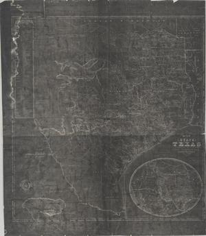 Primary view of object titled 'J. De Cordova's map of the state of Texas'.