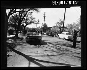 Primary view of object titled '[Tippit Shooting Crime Scene]'.