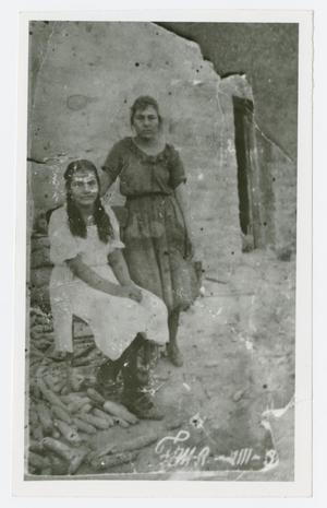 Primary view of object titled '[Photograph of Josefina Dominguez and Maria Ochoa]'.