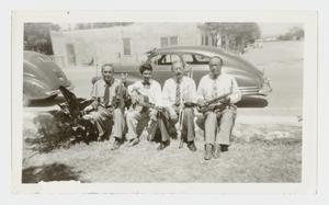 [Photograph of Juan Dominguez and His Band]