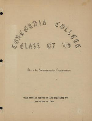 Primary view of object titled 'Concordia College Class of '49'.