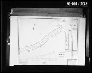 Primary view of object titled '[Survey Map for U.S. Secret Service Elm and Houston St. Area]'.
