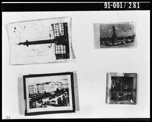 Primary view of object titled 'Four Photographs from Oswald's Home'.