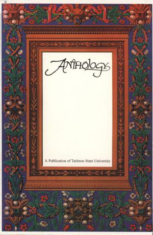 Primary view of object titled 'Anthology, Volume 4, Spring 1998'.