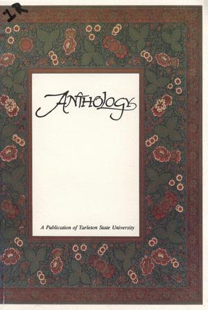 Primary view of object titled 'Anthology, Volume 1, Fall 1995'.