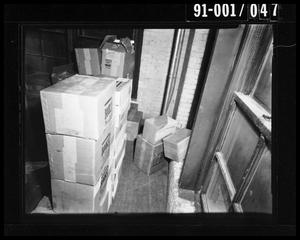 Boxes in the Texas School Book Depository