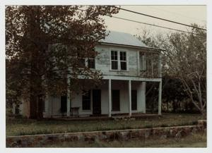Primary view of object titled '[King-Lorenz House Photograph #8]'.