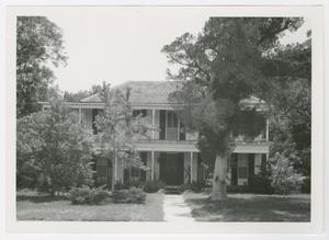 Primary view of object titled '[Meriwether-Simons-Farquhar House Photograph #2]'.