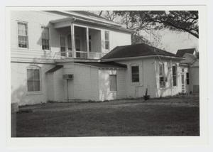 Primary view of object titled '[Joseph Andrew Hamilton House Photograph #2]'.