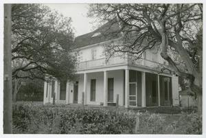 Primary view of object titled '[Hill-O'Connor-Howard House Photograph #8]'.