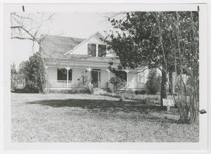 Primary view of object titled '[Applewhite House Photograph #1]'.