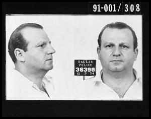 Primary view of object titled 'Mug Shot: Jack Ruby'.