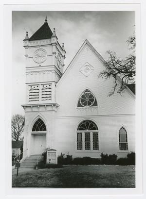 Primary view of object titled '[First Christian Church of Brenham Photograph #1]'.