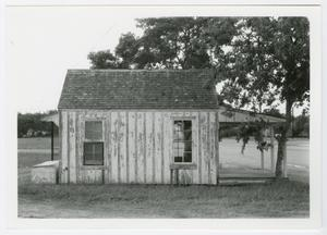 Primary view of object titled '[McFaddin Post Office Photograph #4]'.