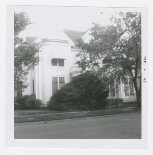 Primary view of object titled '[James A. McFaddin Home Photograph #2]'.