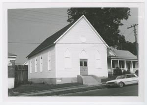Primary view of object titled '[B'Nai Abraham Synagogue Photograph #2]'.