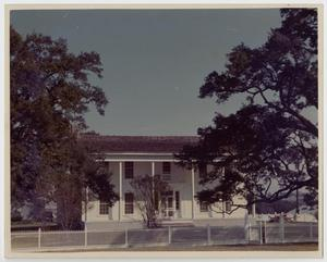 Primary view of object titled '[Hunt-Hardy House Photograph #1]'.