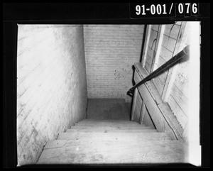 Primary view of object titled 'Texas School Book Depository Stairwell [Negative]'.