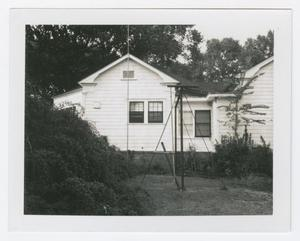 Primary view of object titled '[Thomas Jefferson Chambers Home Photograph #1]'.