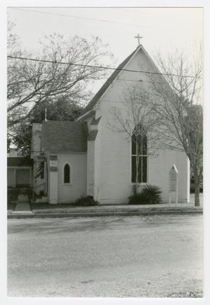 Primary view of object titled '[St. Matthew's Episcopal Church Photograph #2]'.