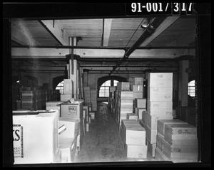 Boxes in the Texas School Book Depository [Negative #2]