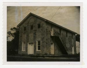 Primary view of object titled '[Oldest Commercial Building in Burnet Photograph #1]'.