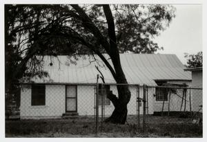 Primary view of object titled '[Kraus House/Mann's Crossing Post Office Photograph #2]'.