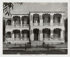 Primary view of object titled '[The Chabot House Photograph #1]'.