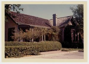 Primary view of object titled '[Dr. Claudius E. R. King House Photograph #13]'.