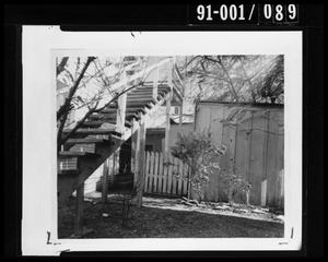 Primary view of object titled 'Back Yard of 214 Neeley Street #2'.
