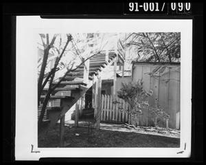 Primary view of object titled 'Back Yard of 214 Neeley Street #1'.