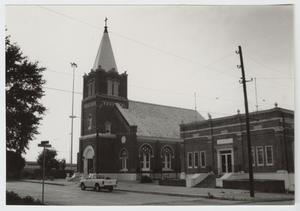 Primary view of object titled '[San Francesco Di Paola Catholic Church Photograph #3]'.