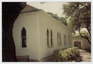 Primary view of object titled '[Zion Lutheran Church Photograph #1]'.