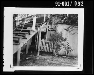 Primary view of object titled 'Back Yard of 214 Neeley Street #4'.