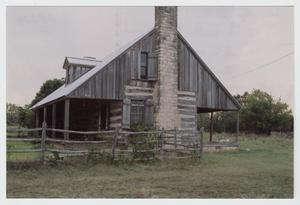 Primary view of object titled '[Joseph and Eliza Bird Residence Photograph #3]'.