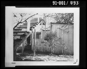 Primary view of object titled 'Back Yard of 214 West Neeley Street #3'.