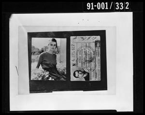 Primary view of object titled 'Oswald Property: Photograph and Identification'.