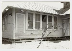 Primary view of object titled '[Boldtville Schoolhouse Photograph #7]'.