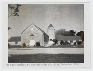Primary view of object titled '[Blanco Methodist Church Photograph #1]'.