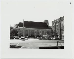 Primary view of object titled '[St. Mark's Episcopal Church Photograph #3]'.
