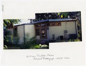 Primary view of object titled '[William and Mary Ann Richter House Photograph #2]'.
