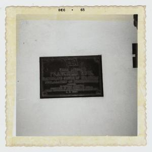 Primary view of object titled '[Ruiz House Photograph #1]'.