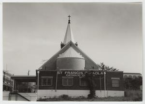 Primary view of object titled '[San Francesco Di Paola Catholic Church Photograph #1]'.