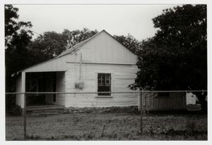 Primary view of object titled '[Kraus House/Mann's Crossing Post Office Photograph #4]'.