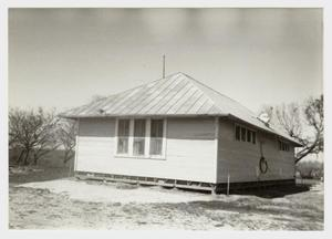 Primary view of object titled '[Boldtville Schoolhouse Photograph #8]'.