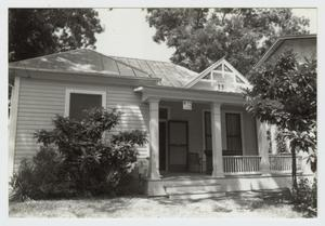 Primary view of object titled '[Schulze-Schilo House Photograph #1]'.