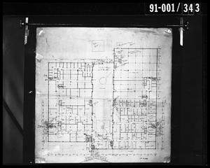 Primary view of object titled 'Dallas Trade Mart First Floor Map'.