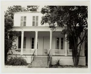 Primary view of object titled '[Dr. Theodore Koester Home Photograph #1]'.